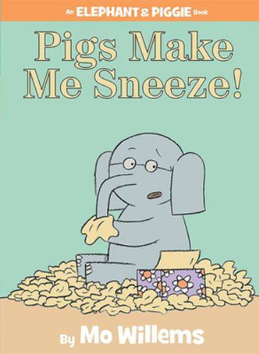 Hardcover Pigs Make Me Sneeze! Book