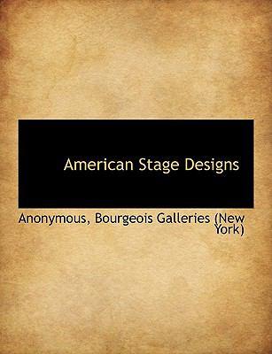 Paperback American Stage Designs [Large Print] Book