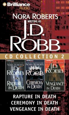 Audio CD J. D. Robb CD Collection 2: Rapture in Death, Ceremony in Death, Vengeance in Death (In Death Series) Book