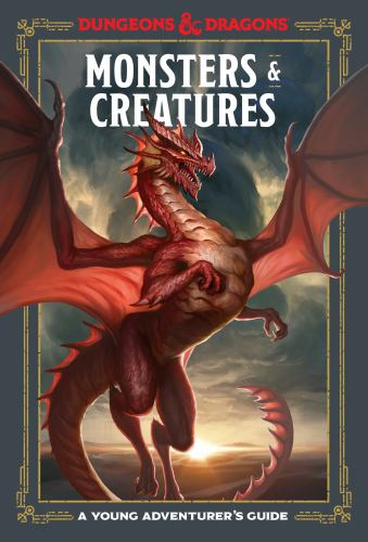 Hardcover Monsters and Creatures : An Adventurer's Guide Book