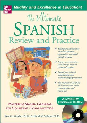 The Ultimate Spanish Review and    book by Ronni L  Gordon