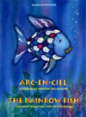 Paperback Rainbow Fish English/French Book