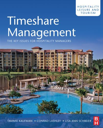 Timeshare Management Vol. 16 : The Key Issues for Hospitality Managers (0750685999 5968959) photo