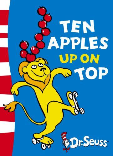 Paperback Ten Apples Up on Top: Green Back Book (Dr Seuss - Green Back Book) Book