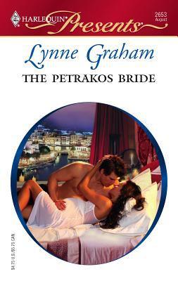The Petrakos bride book by Lynne Graham