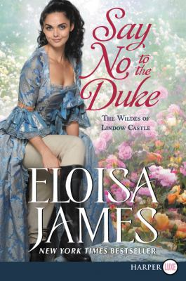 Paperback Say No to the Duke [Large Print] Book