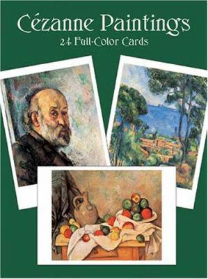 Cezanne Paintings : Twenty Four Full Colour Cards - Paul Cezanne