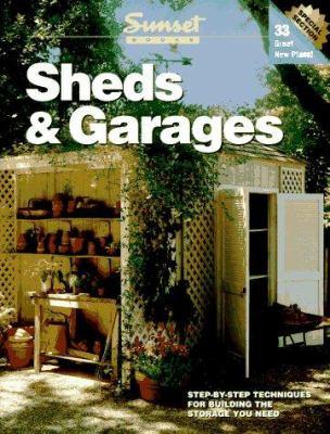 Paperback Sheds and Garages Book