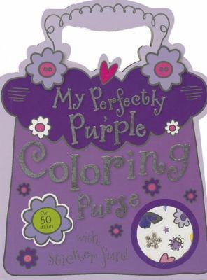 My Perfectly Purple Purse Mini Coloring Book (1780657501 9233355) photo