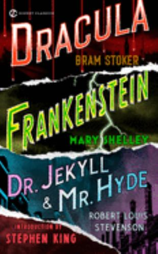 Frankenstein, Dracula, Dr. Jekyll and Mr. Hyde B00BG7J8IQ Book Cover