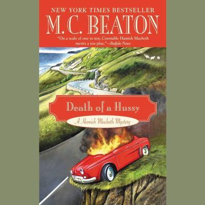 Death of a Hussy Lib/E 1482941481 Book Cover