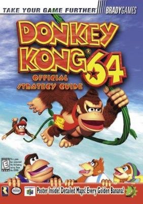 Donkey kong 64 nintendo official strategy guide book | ebay.