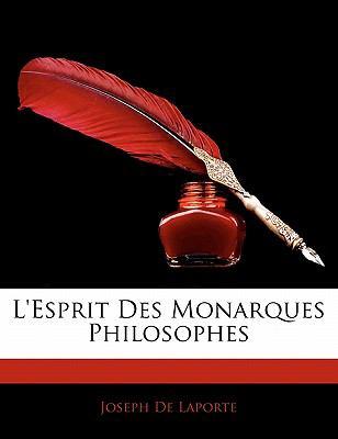 Paperback L' Esprit des Monarques Philosophes Book