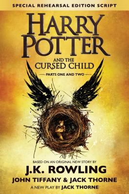 Hardcover Harry Potter and the Cursed Child Parts One and Two (Special Rehearsal Edition Script) Book