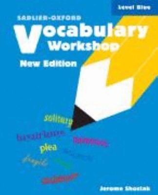 Vocabulary Workshop Level Blue Book By Jerome Shostak