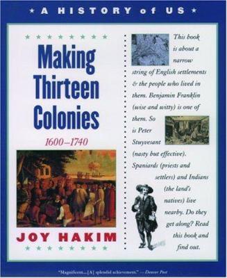Paperback Making Thirteen Colonies, 1600-1740 Book