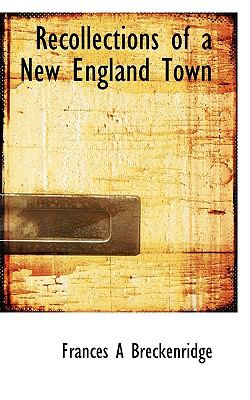 Paperback Recollections of a New England Town Book