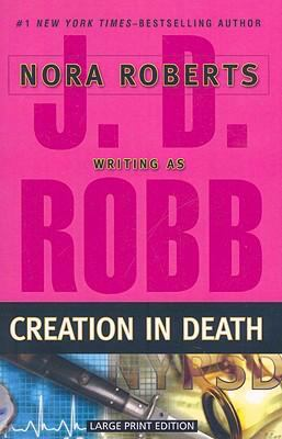 Paperback Creation in Death [Large Print] Book