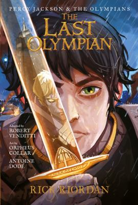 Paperback Percy Jackson and the Olympians the Last Olympian: the Graphic Novel Book