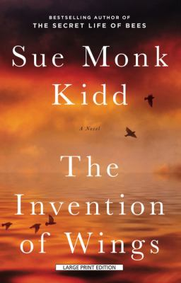 Paperback The Invention of Wings [Large Print] Book