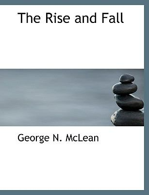 Paperback The Rise and Fall [Large Print] Book