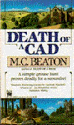 Death of a Cad (Hamish Macbeth Mysteries, No. 2) 0804102252 Book Cover