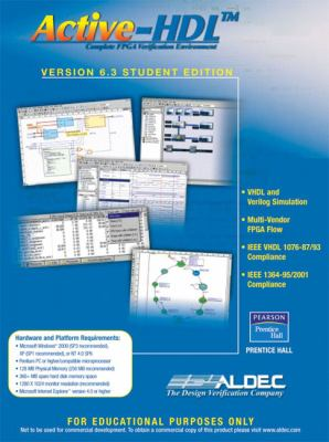 Active-hdl 6. 3 student edition book by inc aldec.