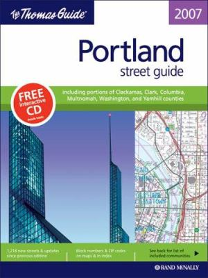 Portland, Oregon Atlas book by Thomas Brothers Maps on