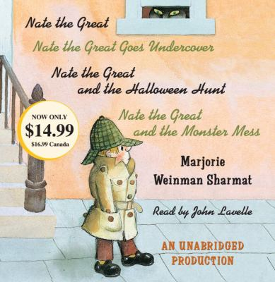 Nate the Great Collected Stories: Volume I: Nate the Great; Nate the Great Goes Undercover; Nate the Great and the Halloween Hunt; Nate the Great and the Monster Mess - Book  of the Nate the Great