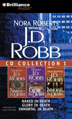 Audio CD J. D. Robb CD Collection 1: Naked in Death, Glory in Death, Immortal in Death (In Death Series) Book