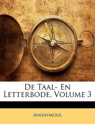 Paperback De Taal- en Letterbode Book