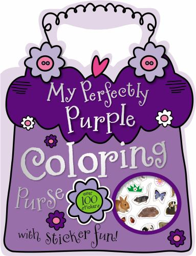 My Perfectly Purple Coloring Purse (1780653867 15347209) photo