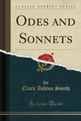 Odes and Sonnets (Classic Reprint) 1334611270 Book Cover