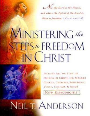 Paperback Ministering the Steps to Freedom in Christ Book