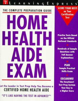 Home Health Aide Exam Book By Learningexpress