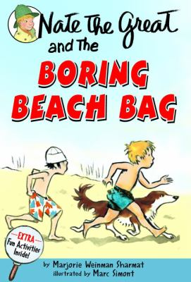 Nate The Great And The Boring Beach Bag (Nate The Great, paper) - Book #10 of the Nate the Great