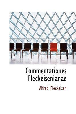Paperback Commentationes Fleckeisenianae Book