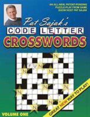 Pat Sajak's Code Letter Crosswords (Pat book by Pat Sajak
