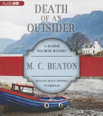 Death of an Outsider 148292787X Book Cover