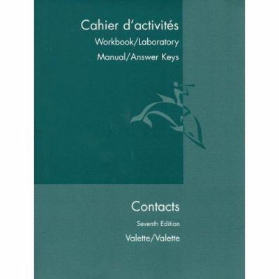 Contacts Langue Et Culture Francaises Book By Rebecca M