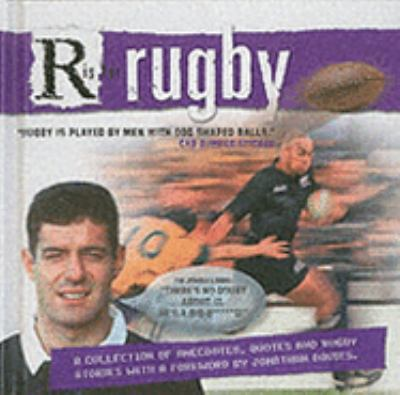 Hardcover R Is for Rugby (Sporting Humour) (Sporting Humour) Book