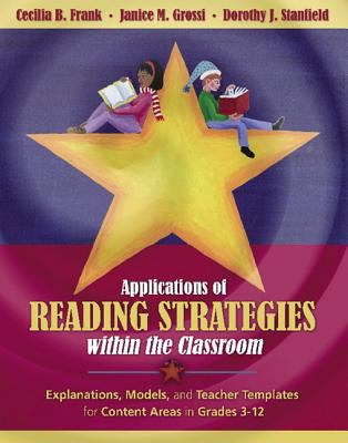 Paperback Applications of Reading Strategies Within the Classroom Book