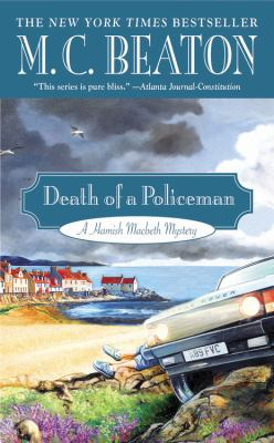 Death of a Policeman [Large Print] 1455576255 Book Cover