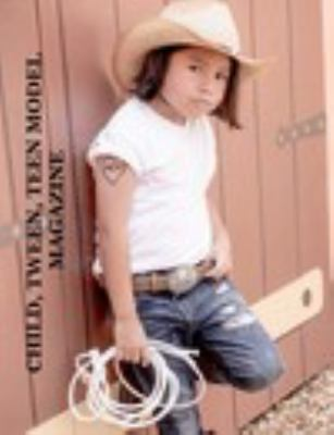Child, Tween, Teen Model Magazine book
