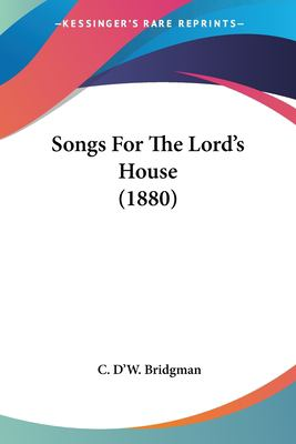 Paperback Songs for the Lord's House Book