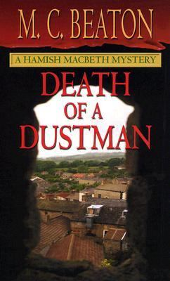 Death of a Dustman (Hamish Macbeth Mysteries, N... [Large Print] 0786268530 Book Cover