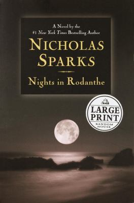 Paperback Nights in Rodanthe [Large Print] Book