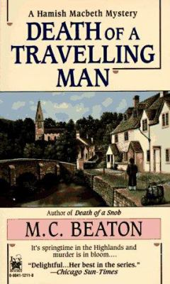 Death of a Travelling Man (Hamish Macbeth Myste... 0804112118 Book Cover
