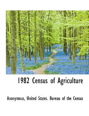 Paperback 1982 Census of Agriculture Book