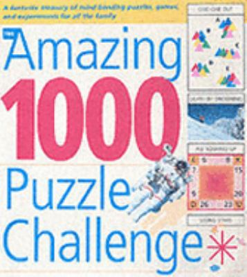 Paperback The Amazing 1000 Puzzle Challenge Book